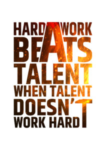 hard-work-beats-talent-motivational-inspiring